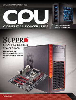 Computer Power User (CPU) October 2015