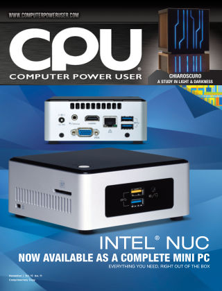 Computer Power User (CPU) November 2015