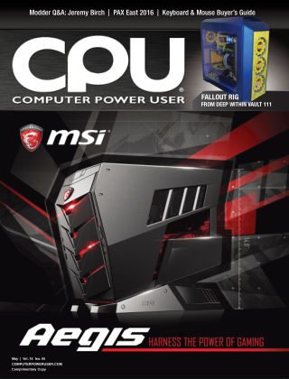 Computer Power User (CPU) 2016-04-29