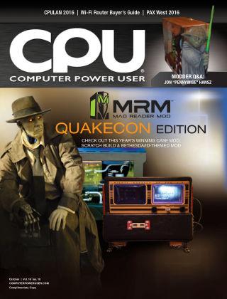 Computer Power User (CPU) October 2016