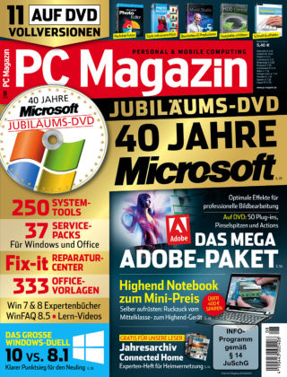 PC Magazin 08/15