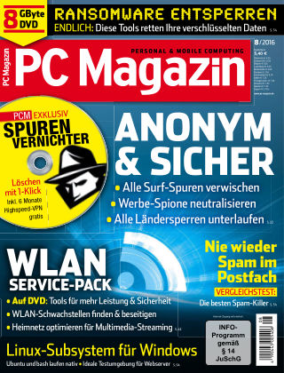 PC Magazin 08/16