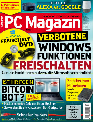 PC Magazin Januar 2018