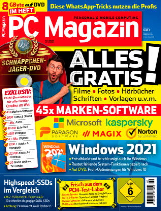 PC Magazin Januar 2021