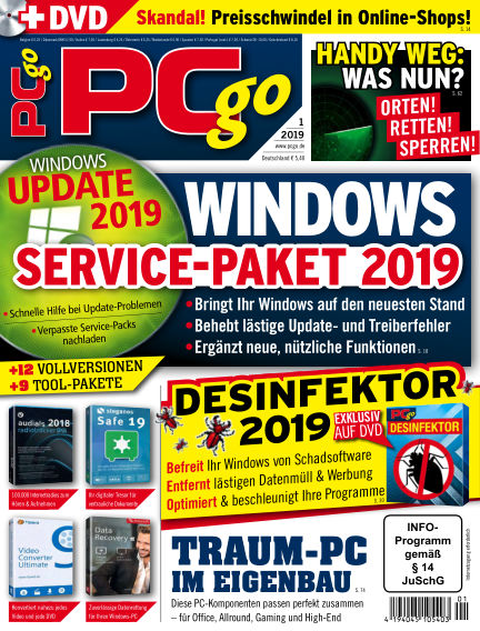 PCgo December 07, 2018 00:00