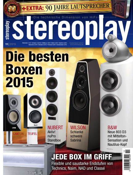 stereoplay October 09, 2015 00:00