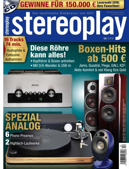 stereoplay November 13, 2015 00:00