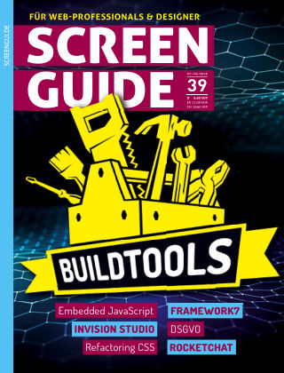 SCREENGUIDE (eingestellt) Juni 2018