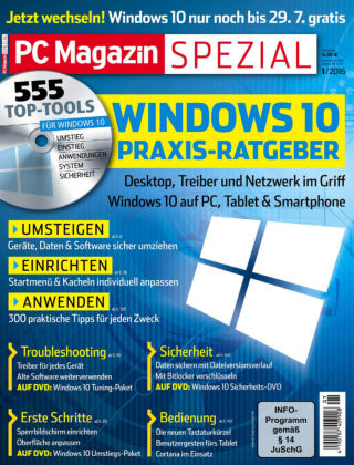 PC Magazin Spezial Windows 10