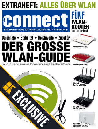Connect Readly Exclusive WLAN