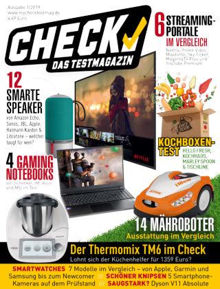 CHECK – Das Testmagazin Juli 2019
