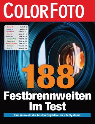 ColorFoto Spezial 188 Festbrennweiten
