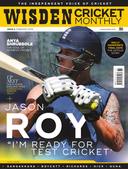 Wisden Cricket Monthly February 15, 2018 00:00