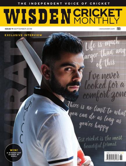 Wisden Cricket Monthly August 30, 2018 00:00