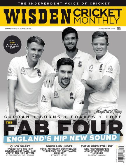 Wisden Cricket Monthly November 22, 2018 00:00
