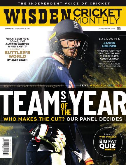 Wisden Cricket Monthly December 20, 2018 00:00