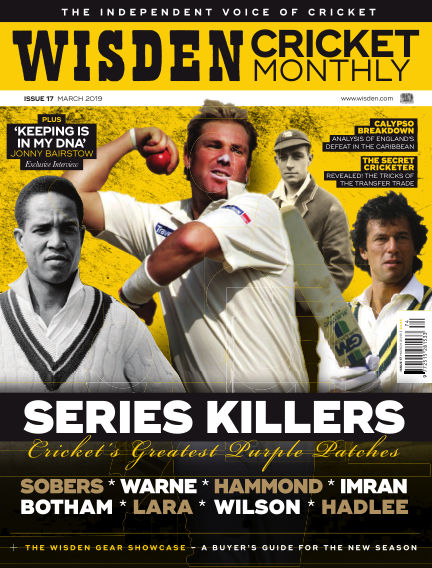 Wisden Cricket Monthly February 21, 2019 00:00