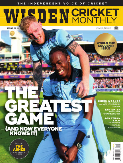Wisden Cricket Monthly July 25, 2019 00:00
