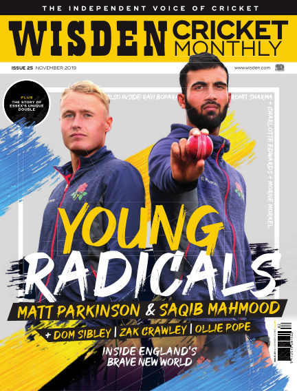 Wisden Cricket Monthly October 31, 2019 00:00