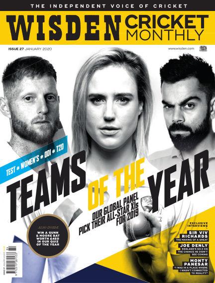 Wisden Cricket Monthly December 27, 2019 00:00