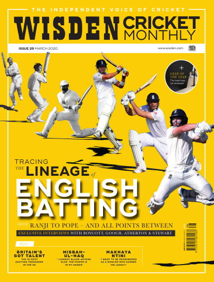 Wisden Cricket Monthly February 27, 2020 00:00