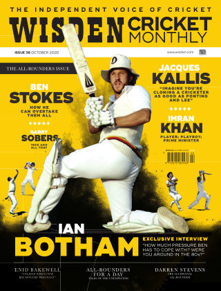 Wisden Cricket Monthly Issue 36