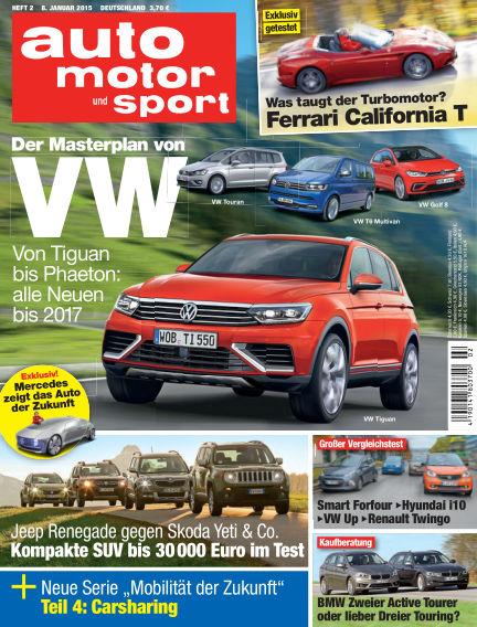 auto motor und sport January 08, 2015 00:00