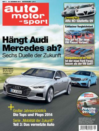 auto motor und sport 01/2015