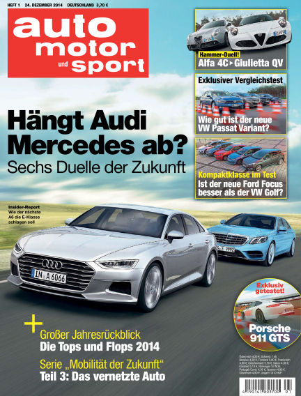 auto motor und sport December 24, 2014 00:00