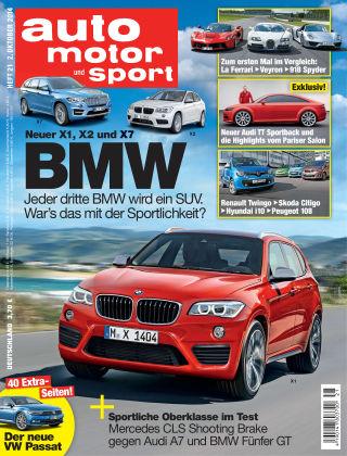 auto motor und sport 21/2014