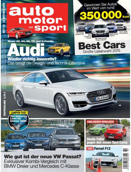 auto motor und sport October 16, 2014 00:00