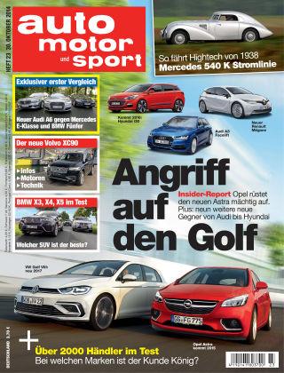 auto motor und sport 23/2014