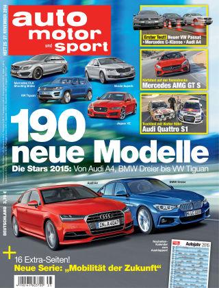 auto motor und sport 25/2014
