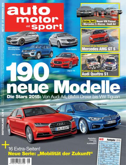 auto motor und sport November 27, 2014 00:00