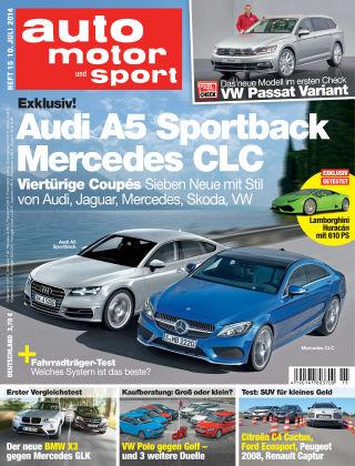 auto motor und sport 15/2014