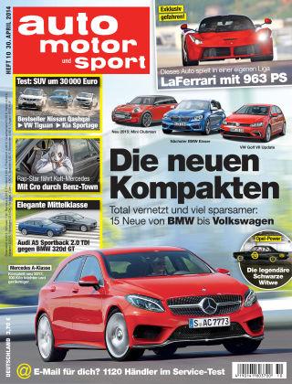 auto motor und sport 10/2014