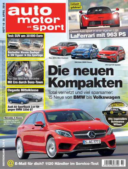 auto motor und sport April 30, 2014 00:00