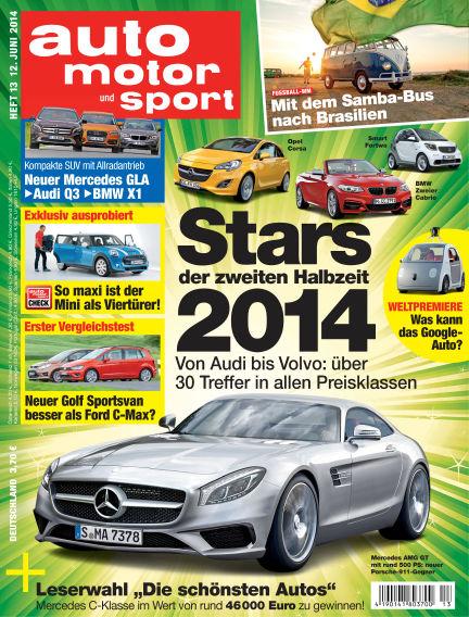 auto motor und sport June 12, 2014 00:00