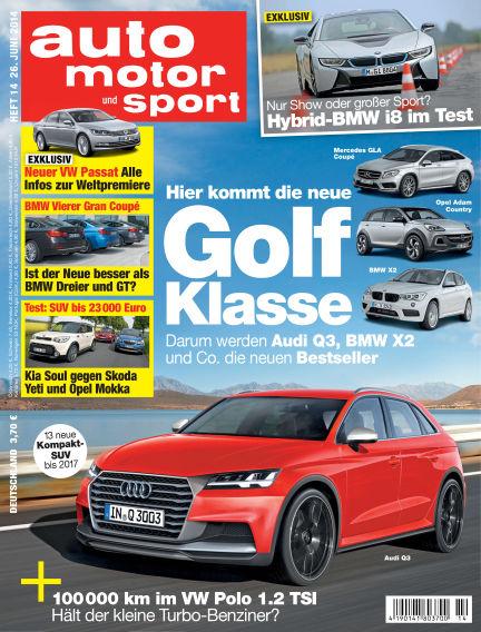 auto motor und sport June 26, 2014 00:00