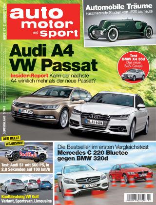 auto motor und sport 17/2014