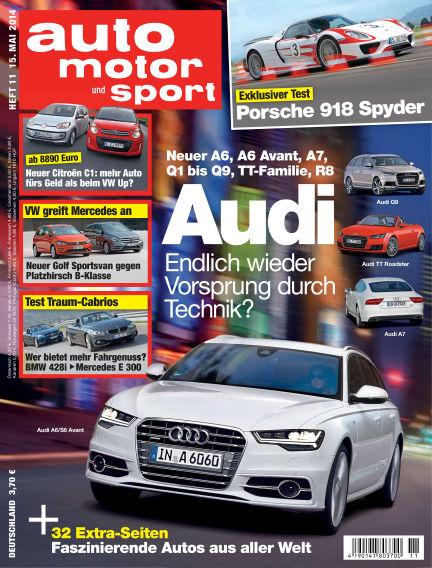 auto motor und sport May 15, 2014 00:00