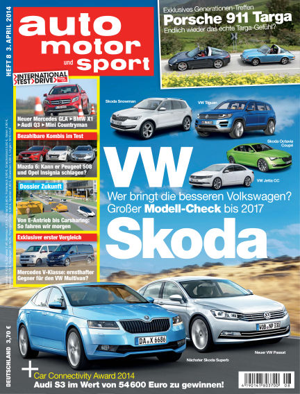 auto motor und sport April 03, 2014 00:00