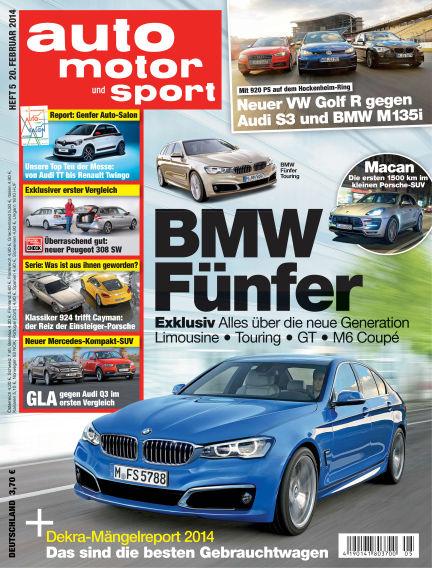 auto motor und sport February 20, 2014 00:00