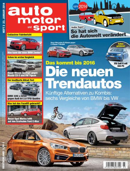 auto motor und sport January 23, 2014 00:00