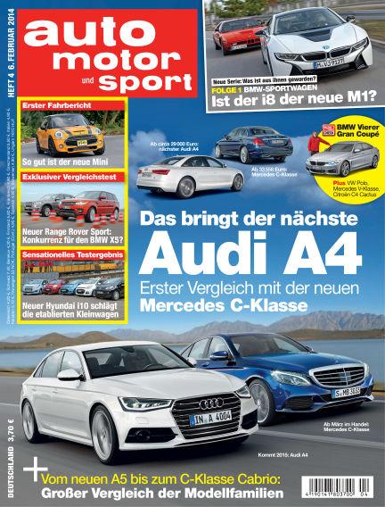 auto motor und sport February 06, 2014 00:00