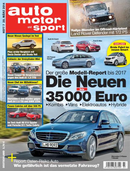 auto motor und sport March 20, 2014 00:00
