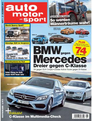 auto motor und sport 01/2014