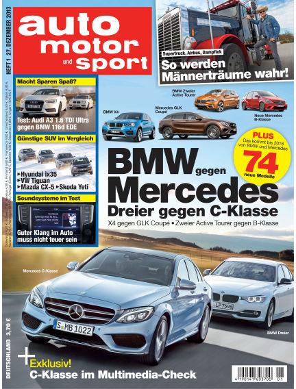 auto motor und sport December 27, 2013 00:00
