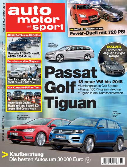 auto motor und sport January 09, 2014 00:00