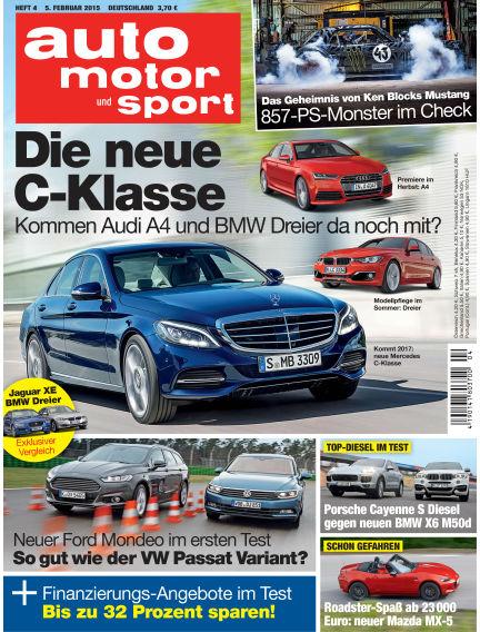 auto motor und sport February 05, 2015 00:00